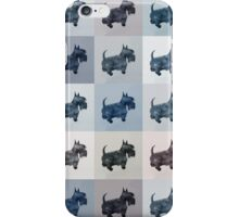 Fifty Shades of Grey Scottie Dogs (25 shades actually) iPhone Case/Skin