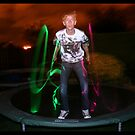 Glowstick Exposure Shot III by Melissa Contreras