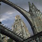 Cathedral of Tours, France by Anatoliy