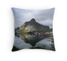 Reine - Lofoten Islands Throw Pillow