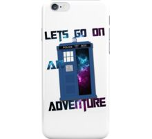 TARDIS-Let's go on an adventure #2 iPhone Case/Skin
