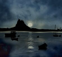Lindisfarne Castle by Moonlake