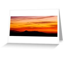 Bennachie. Greeting Card