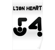 lion heart 54 Poster