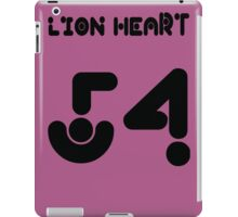 lion heart 54 iPad Case/Skin