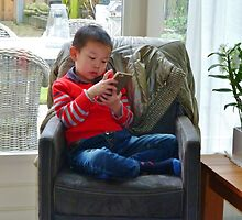 Ivo Calling China. by Janone