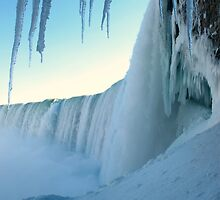 Under Niagara Falls III by Petr Bares