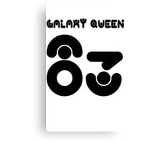 GALAXY QUEEN 83 Canvas Print