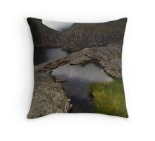 Wild Lofoten Islands Throw Pillow