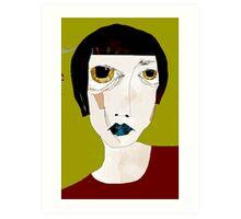 « pleure ma belle » Art Print