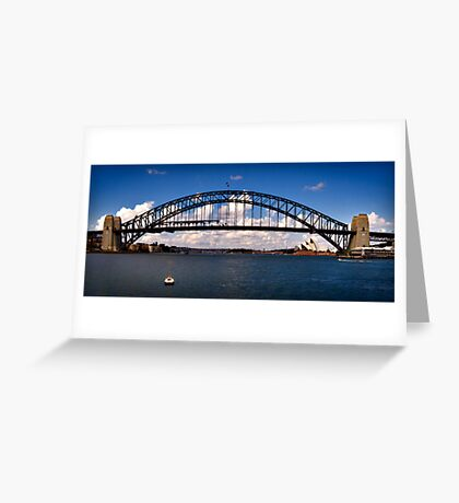 Blues View Greeting Card