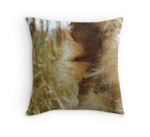 Cat Tail Throw Pillow