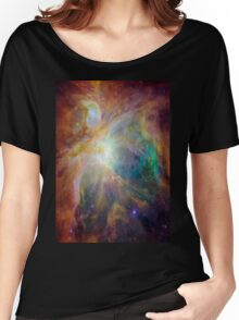 Galaxy Rainbow v2.0 Women's Relaxed Fit T-Shirt