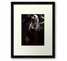 Pose of The Black Rose_Zombiefied Corruption Framed Print