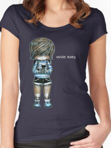 Smile Baby Tee Women's Fitted Scoop T-Shirt