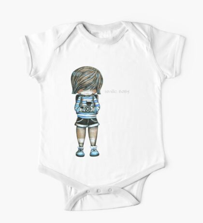 Smile Baby Tee One Piece - Short Sleeve