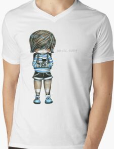 Smile Baby Tee Mens V-Neck T-Shirt