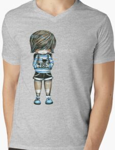 Smile Baby Tee Mens V-Neck T-Shirt