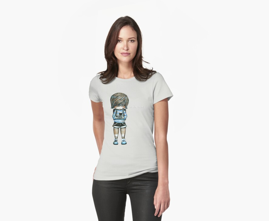 Smile Baby Tee by © Karin Taylor