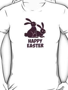 Happy Easter Bunnies T-Shirt