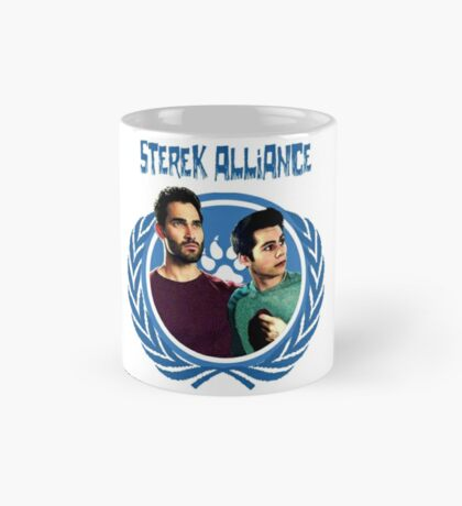 The Ultimate Sterek Alliance Blue T-Shirt Mug