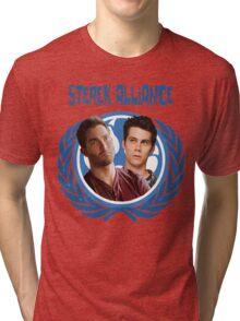 The Ultimate Sterek Alliance II Blue T-Shirt Tri-blend T-Shirt