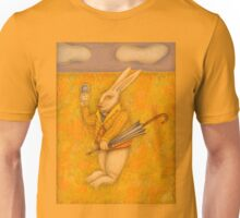 Illustration The White Rabbit Unisex T-Shirt