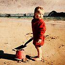 On the Beach by Lisa Wilson