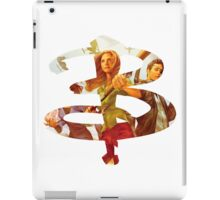 B - Buffy comic - Buffy Xander iPad Case/Skin