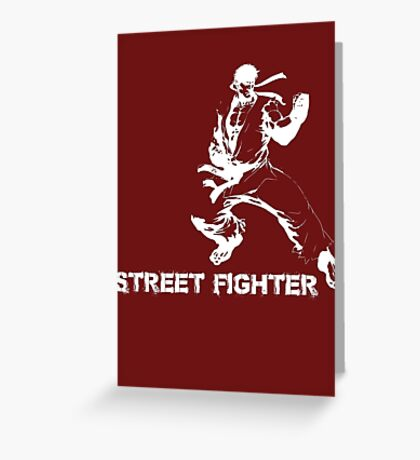 street fighter Greeting Card