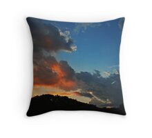 Bold Day Departing Throw Pillow