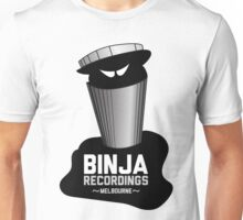 BiNJA LOGO on White Unisex T-Shirt