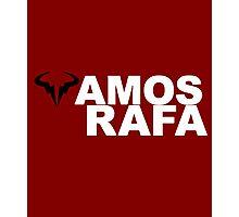 Vamos Rafa Photographic Print