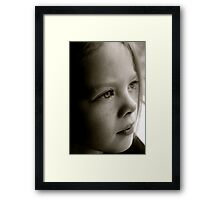 Into Light Framed Print