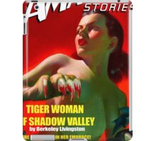 Amazing Stories - Classic Sci Fi Magazine Cover - Reproduction iPad Case/Skin