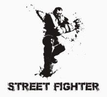street fighter One Piece - Short Sleeve
