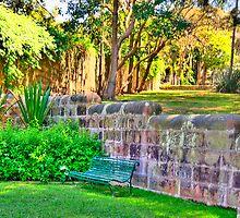 A Silent Corner - Gladesville Asylum (Hospital) The HDR Series by Philip Johnson