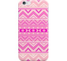 Pink #5 - Girly Aztec Pattern iPhone Case/Skin