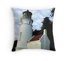 Heceta Head Lighthouse #3 Throw Pillow