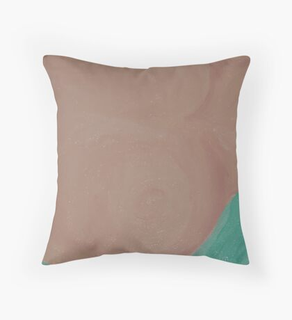 Weekend –  Breast & Good Looks - Cancer - Pink Ribbon Day Remembrance Throw Pillow