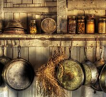 The old country kitchen by Mike  Savad