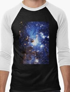 Blue Galaxy 3.0 Men's Baseball ¾ T-Shirt