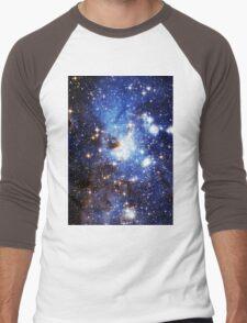 Blue Galaxy 3.0 Men's Baseball ¾ T-Shirt