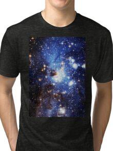Blue Galaxy 3.0 Tri-blend T-Shirt