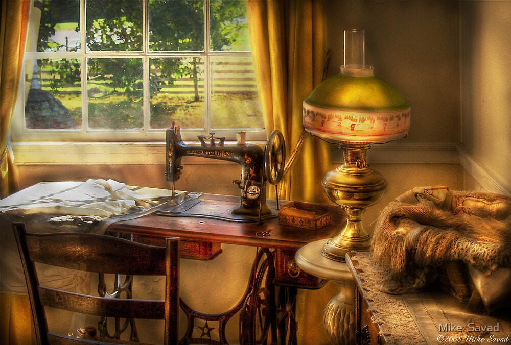 The Domestic Sewing Machine by Mike  Savad