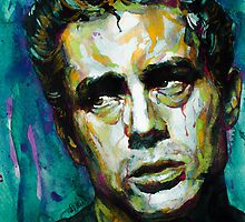 James Dean watercolor by lauiduc