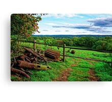 Beautiful English Countryside Canvas Print