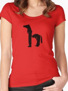 Horseplay Women's Fitted Scoop T-Shirt