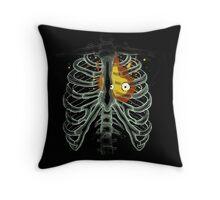 Calcifer - Heart Throw Pillow