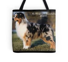 Australian Shepherd Cover Tote Bag